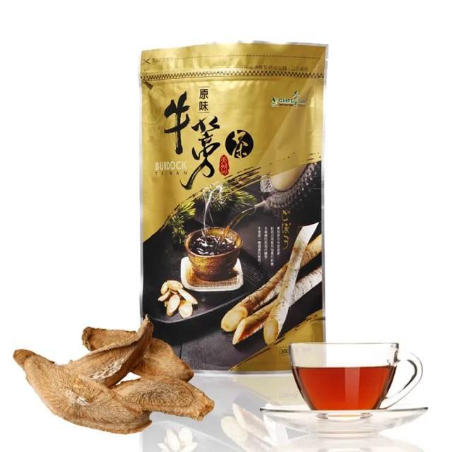 【青玉牛蒡茶】原味牛蒡茶片(300g/包)