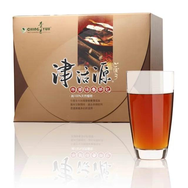 【青玉牛蒡茶】津活源西洋蔘牛蒡茶包(6g*50包入/盒)