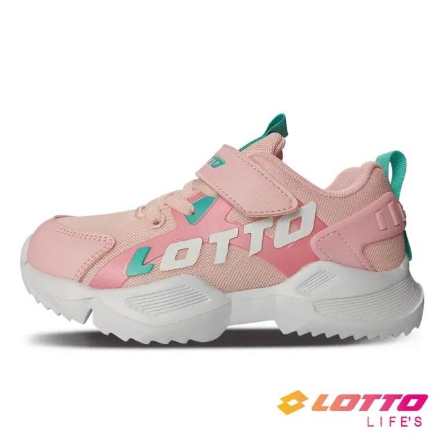 【LOTTO】運動鞋 兒童鞋  EASY RIDE 輕量跑鞋(粉-LT0AKR1793)