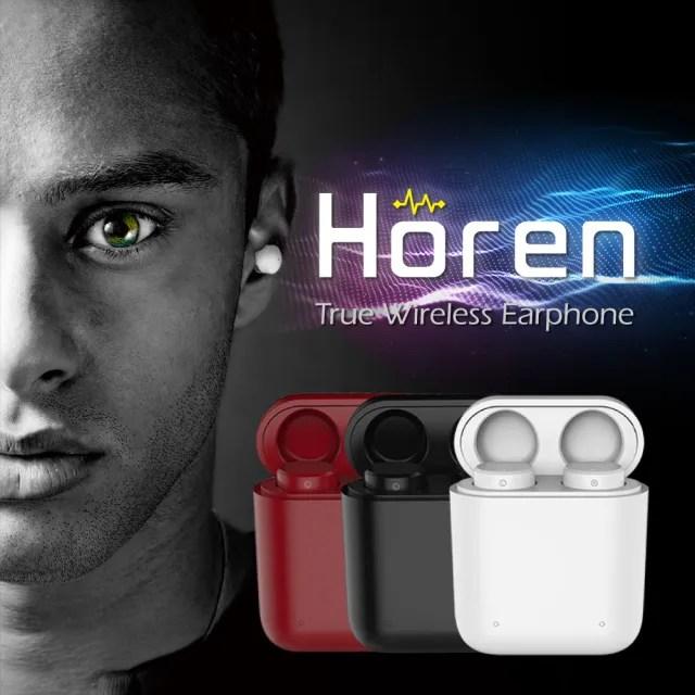 【Horen】X1T 真無線藍牙耳機-2色(支持語音助手/降噪耳機/自動降噪/藍芽耳機推薦/無線耳機推薦)