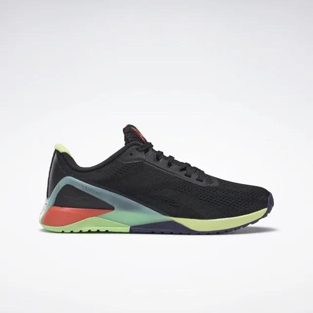 【REEBOK】NANO X1 男 訓練鞋 黑色(FX3241)