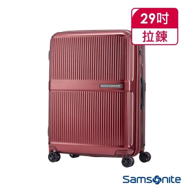 【Samsonite 新秀麗】29吋Dorsett硬殼行李箱 紅(DH3)