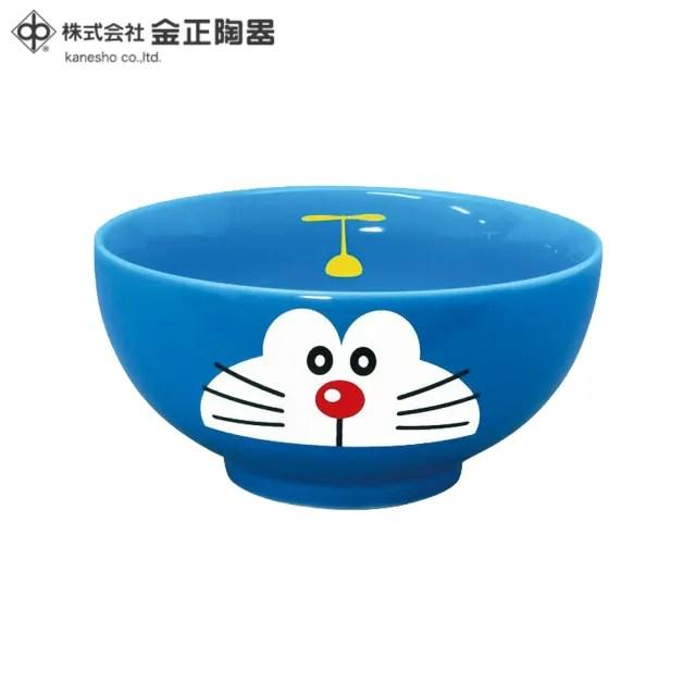 【Doraemon 哆啦A夢】日本金正陶器 哆啦A夢陶瓷茶碗(日本製 日本原裝進口瓷器)