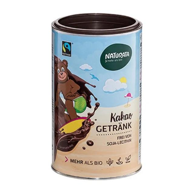 【O'Life 機本生活】Naturata 有機即溶巧克力粉(350g/罐)