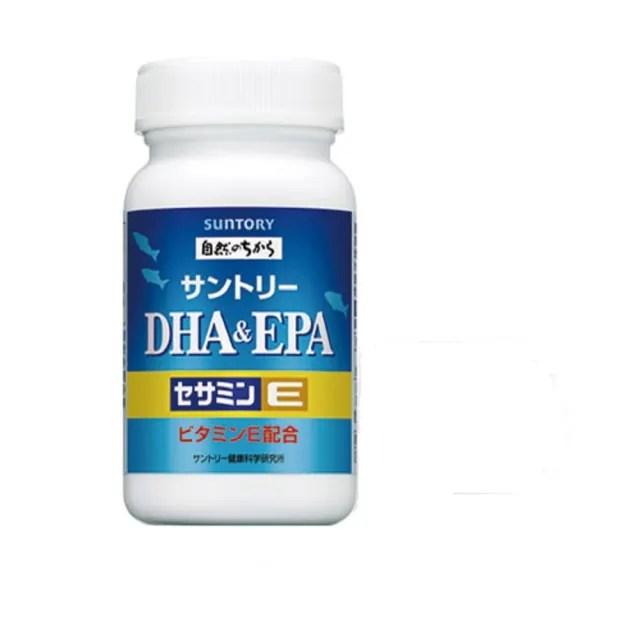 【Suntory 三得利】魚油DHA&EPA+芝麻明E 160顆
