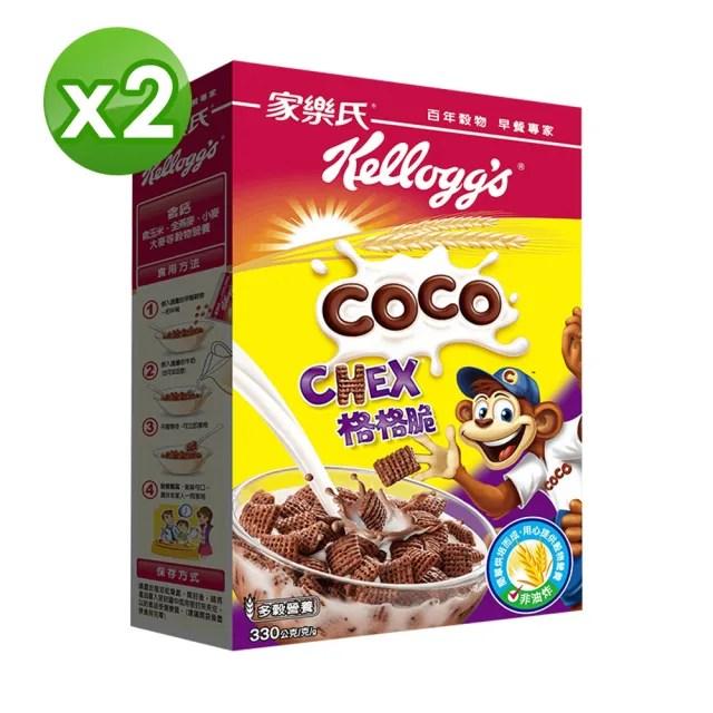 【家樂氏Kelloggs】格格脆330gX2(早餐麥片/穀片)