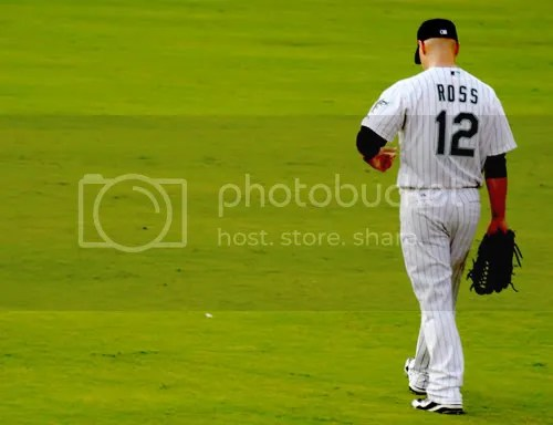 Cody Ross in center field