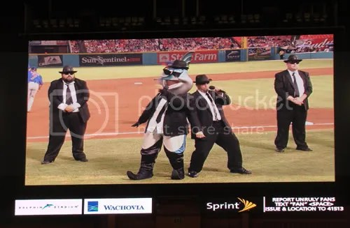 Billy The Marlin and The Manatees as the Blues Brothers
