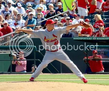 St.Louis Cardinal pitcher, Kyle McClellan