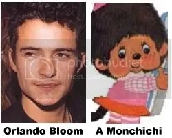 a slight resemblance