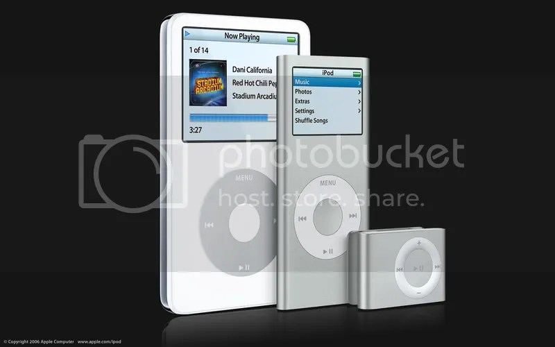 The new iPods