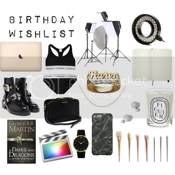 how to make a birthday wish list