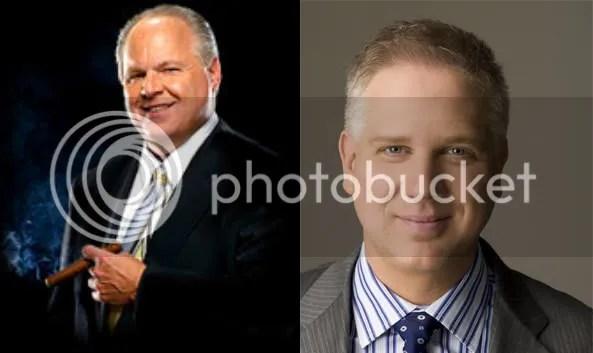 Rush Limbaugh & Glen Beck