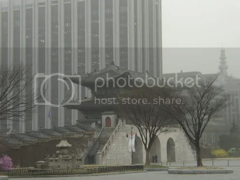 Palace gates, day