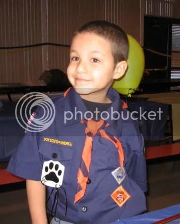 tiger cub scout badge!!