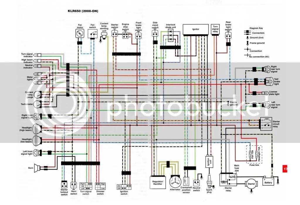 2011 Or 2012 Wiring Diagram Klr 650