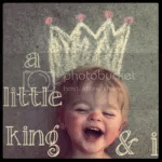 a little king and i