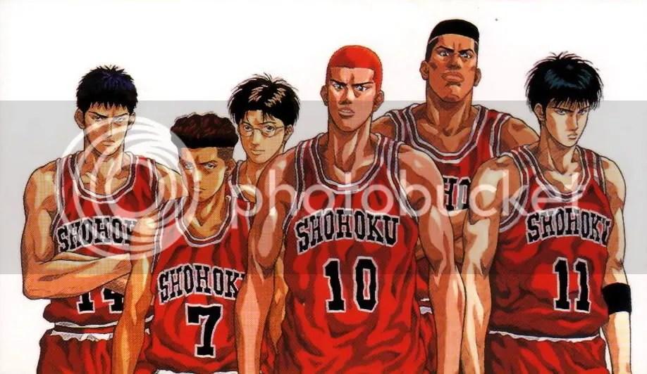 Slam Dunk Anime Sport Jepang