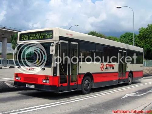 TIB807Y on 925 towards Choa Chu Kang via Sungei Kadut