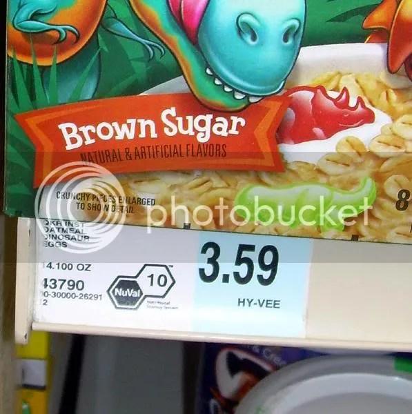Maple sugar-flavored instant oatmeal, 10, baaaaad! Toxic! Ruuuun!