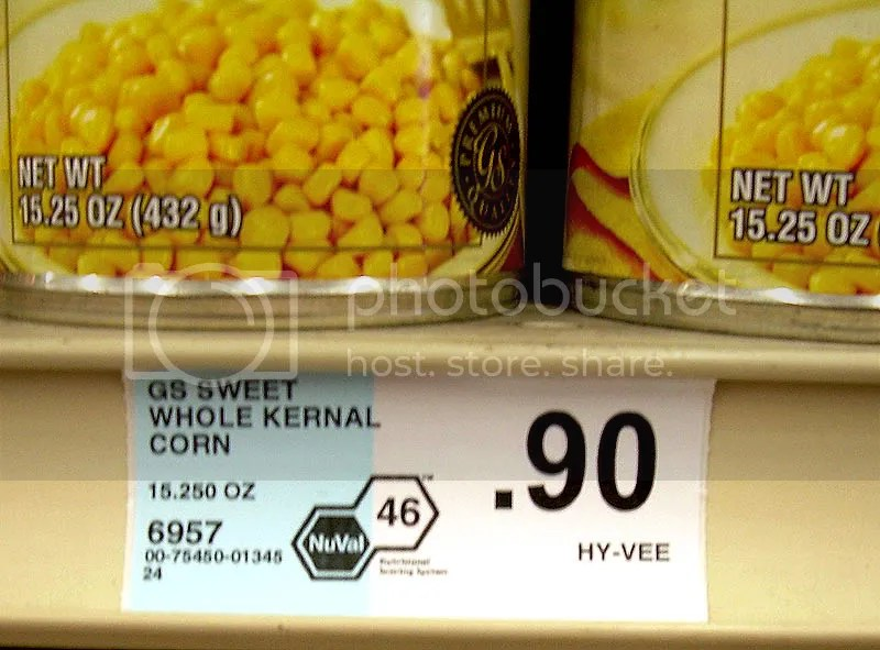 Sweet Whole Kernel Corn, 46, baaaaaad!