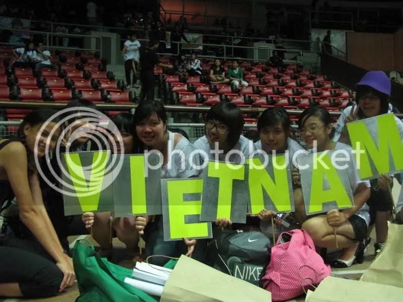 Vietnam VIPs representing, yo!!! =D
