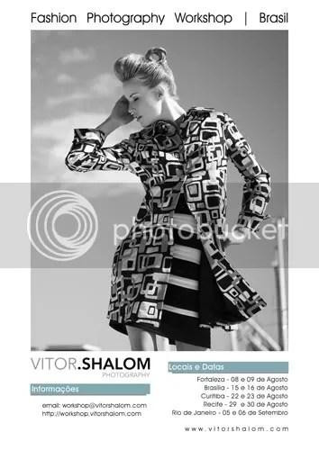 Workshop de Fotografia de Moda com Vitor Shalom
