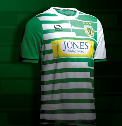 Image result for yeovil new kit stars