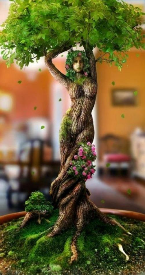 Resultado de imagem para woman as a tree