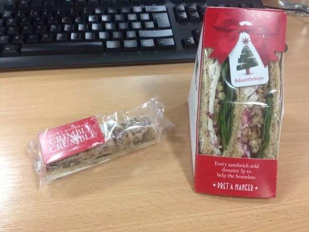 Image result for pret a manger christmas sandwich