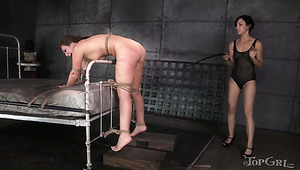 Restricted Beauty Maddy O Reilly Is To Be Punished By Her Mistress