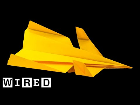 How to Make the 'Canard' Paper Airplane | WIRED