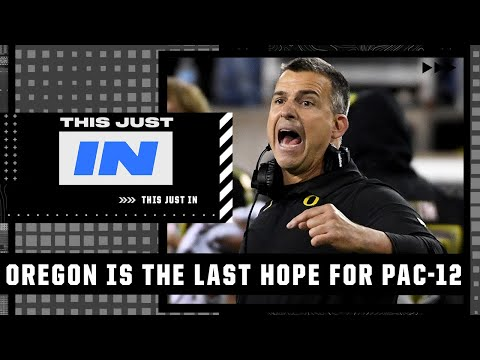 'Oregon is carrying the hopes of the PAC-12' - Max Kellerman on Oregon vs UCLA | This Just In