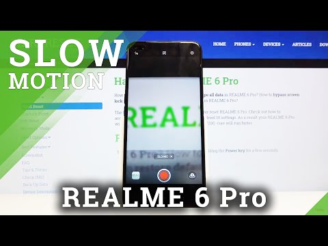How to Use Slow Motion Effect in REALME 6 Pro