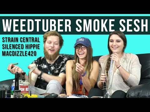 B-roll & Behind The Scenes of Strain Central, Silenced Hippie & Macdizzle420!!! WEEDTUBERS COLLAB!!