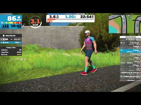 Introduction to Zwift Running Dec 4, 2019