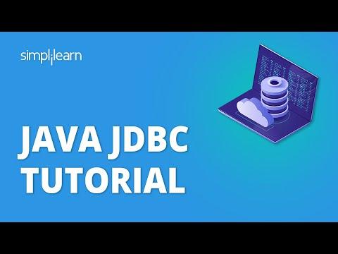 Java JDBC tutorial - Java Database Connectivity   Java Tutorial For Beginners   Simplilearn