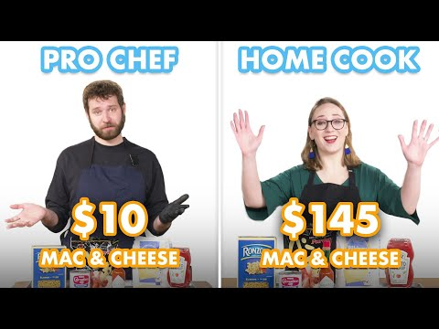 $145 vs $10 Mac & Cheese: Pro Chef & Home Cook Swap Ingredients | Epicurious