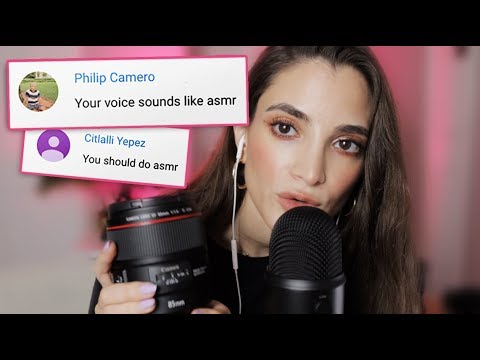My voice sounds like ASMR?! Talking + What's In My Camera Bag