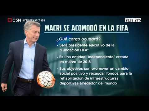 La pelota manchada: Macri se acomodó en la FIFA