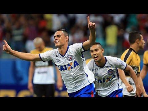 Veja os gols de Bahia 2 x 0 Criciúma