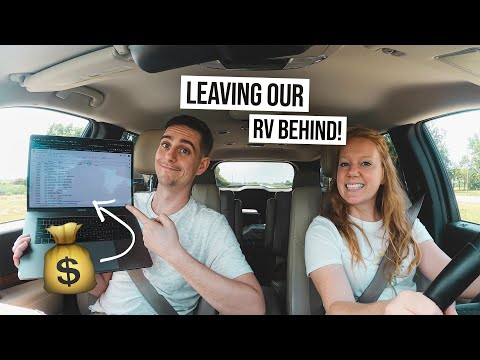 RV Renovation & Budget UPDATE + First Road Trip in Our NEW CAR!