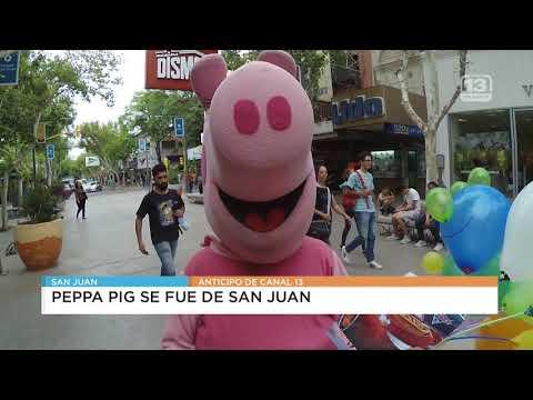 Peppa Pig se fue de San Juan