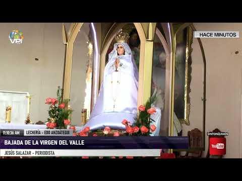 Anzoátegui - Bajada de la Virgen del Valle en Lechería - VPItv