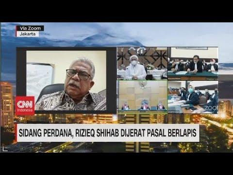 Sidang Perdana Rizieq Shihab, Kuasa Hukum: Kami Dirugikan