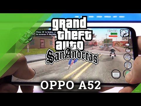GTA SA on OPPO A52 – GTA San Andreas Gameplay