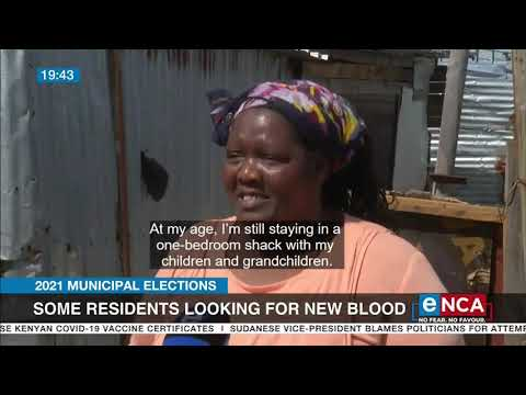 2021 Municipal Elections   Some residents looking for new blood