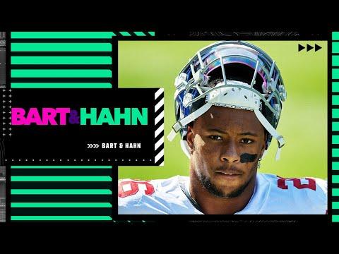 Adam Schefter reviews the Giants drafting Saquon Barkley & Daniel Jones | Bart & Hahn