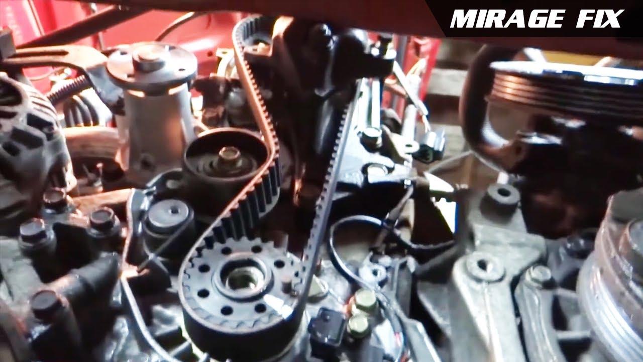 Steering, Alternator, Timing Belt & Water