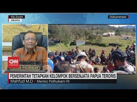 Mahfud MD: Kita Memburu Teroris untuk Melindungi Masyarakat Papua
